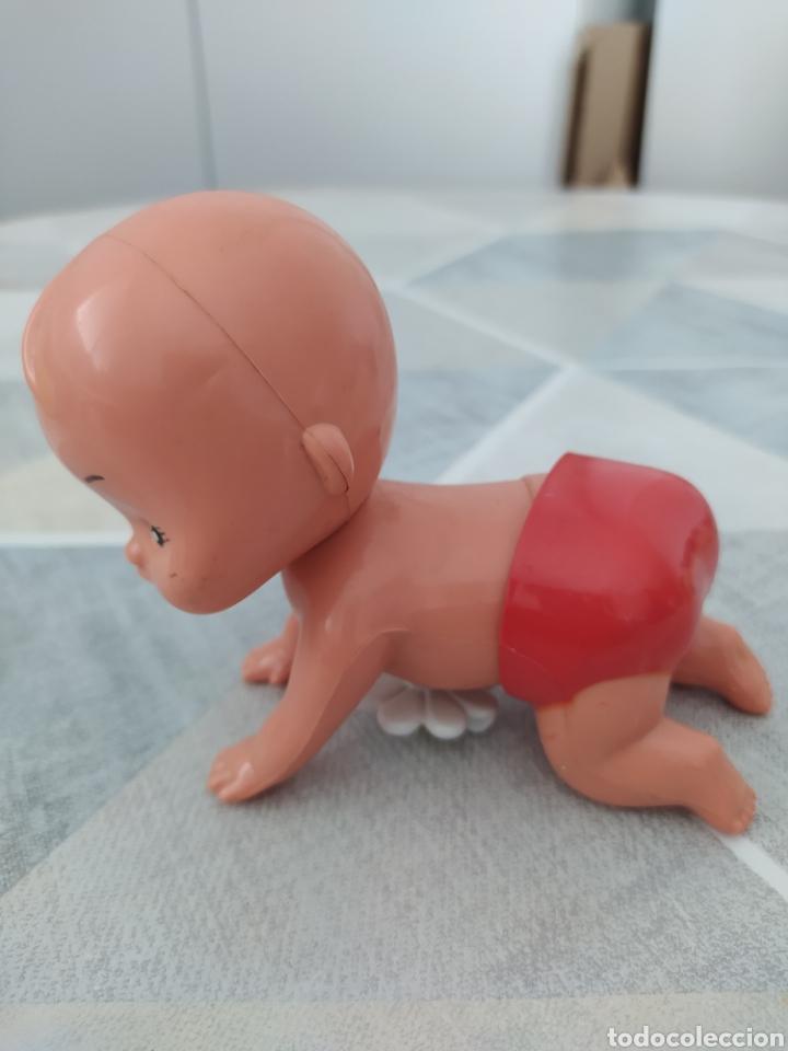 Reediciones Muñecas Españolas: Antiguo bebé gateando a cuerda - Foto 2 - 210410203