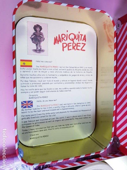 Reediciones Muñecas Españolas: CAJA PARA MUÑECA+LIBRO DE FAMILIA+LETRERO ARCILLA+MALETÍN-LIBRO GRUESO-MARIQUITA PEREZ-VER FOTOS. - Foto 3 - 53807195