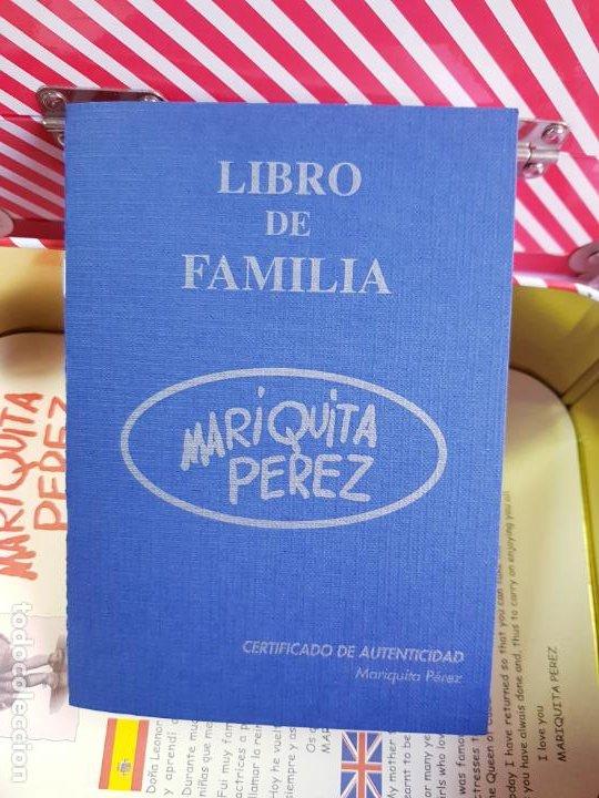 Reediciones Muñecas Españolas: CAJA PARA MUÑECA+LIBRO DE FAMILIA+LETRERO ARCILLA+MALETÍN-LIBRO GRUESO-MARIQUITA PEREZ-VER FOTOS. - Foto 7 - 53807195