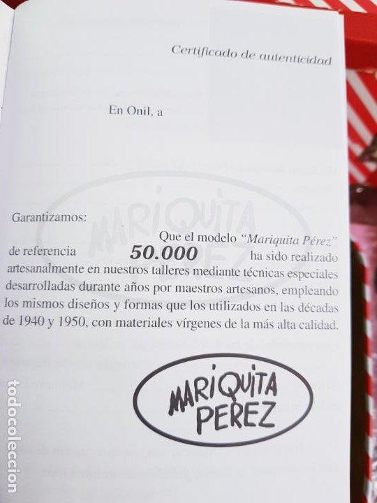 Reediciones Muñecas Españolas: CAJA PARA MUÑECA+LIBRO DE FAMILIA+LETRERO ARCILLA+MALETÍN-LIBRO GRUESO-MARIQUITA PEREZ-VER FOTOS. - Foto 8 - 53807195