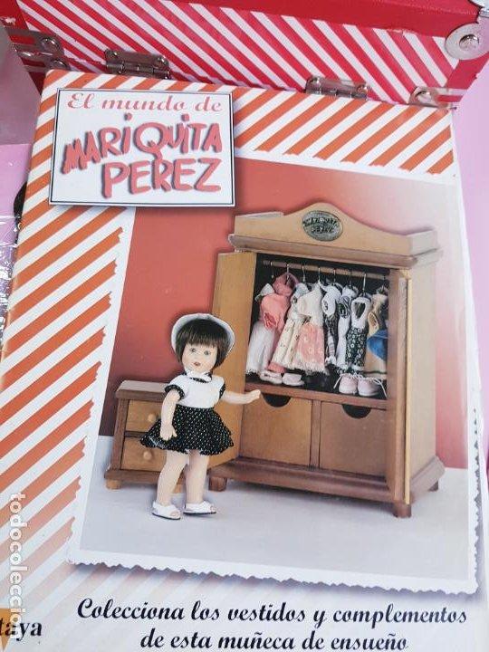 Reediciones Muñecas Españolas: CAJA PARA MUÑECA+LIBRO DE FAMILIA+LETRERO ARCILLA+MALETÍN-LIBRO GRUESO-MARIQUITA PEREZ-VER FOTOS. - Foto 16 - 53807195