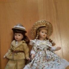Reedições Bonecas Espanholas: LOTE 2 MUÑECAS NIÑAS ESTILO EUROPEO. VER DESCRIPCION. Lote 227817690