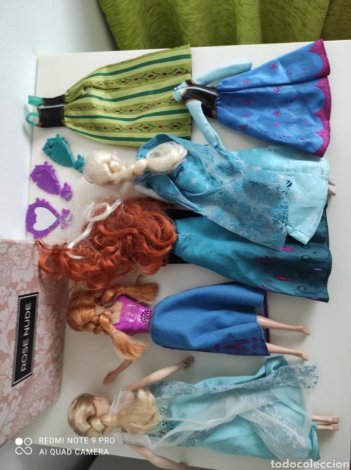 Reediciones Muñecas Españolas: Muñecas Frozen Ana hielo Disney - Foto 4 - 236414320
