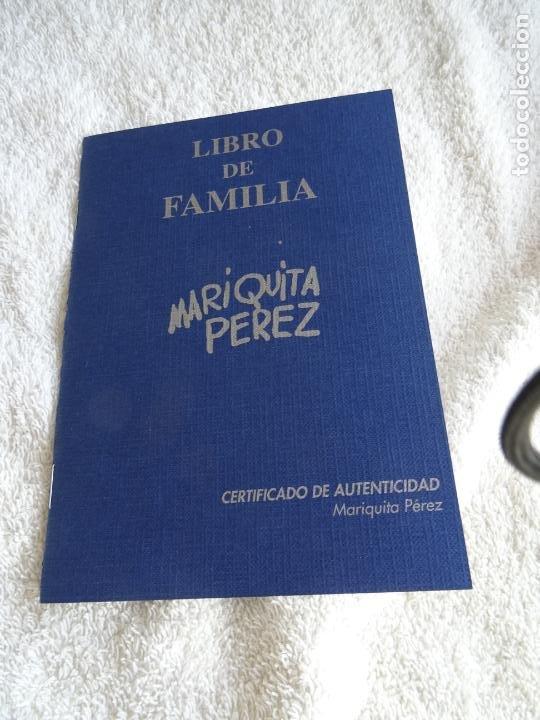Reediciones Muñecas Españolas: MUÑECA MARIQUITA PEREZ MARCADA 1998 - CON CAJA, CERTIFICADO Y LIBRO DE FAMILIA - Foto 6 - 236719180