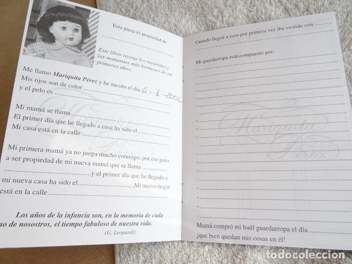 Reediciones Muñecas Españolas: MUÑECA MARIQUITA PEREZ MARCADA 1998 - CON CAJA, CERTIFICADO Y LIBRO DE FAMILIA - Foto 8 - 236719180
