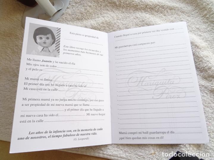 Reediciones Muñecas Españolas: MUÑECO JUANIN - FAMILIA MARIQUITA PEREZ EDICION 2002 - CON CAJA, CERTIFICADO Y LIBRO DE FAMILIA - Foto 8 - 236719930