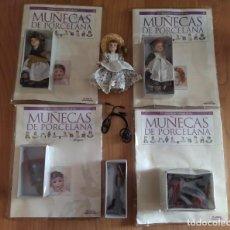 Reediciones Muñecas Españolas: LOTE EL MARAVILLOSO MUNDO DE LAS MUÑECAS DE PORCELANA. PLANETA DE AGOSTINI.. Lote 285531363