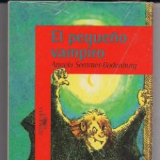Relatos y Cuentos: EL PEQUEÑO VAMPIRO - ANGELA SOMMER-BODENBURG - PRIMERA EDICIÓN ABSOLUTA - 1995 - NUEVO A ESTRENAR. Lote 42463628