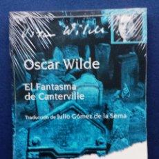 Relatos y Cuentos: EL FANTASMA DE CANTERVILLE OSCAR WILDE TRADUC. J GÓMEZ DE LA SERNA PUBLICIDAD BRISTOL-MYERS SQUIBB. Lote 54235103