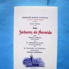 Relatos y Cuentos: LOS SEÑORES DE HERMIDA. EDICIÓN FACSIMILAR CON MOTIVO DEL DÍA INTERNACIONAL DEL LIBRO. 23 ABRIL 2008. Lote 68456685