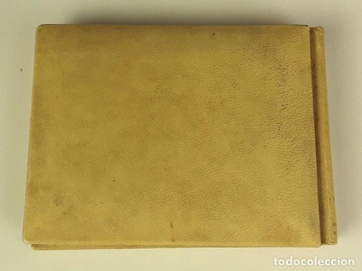 Relatos y Cuentos: BLOC DE NOTAS Y RELATOS EN PIEL DE PERGAMINO CON LAS INICIALES M. M. S/F. - Foto 7 - 83299104