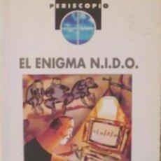 Relatos y Cuentos: EL ENIGMA N.I.D.O./ EDEBÉ/ PERISCOPIO/ FERNANDO LALANA/ 1995/ MIGUEL CALATAYUD. Lote 88370640