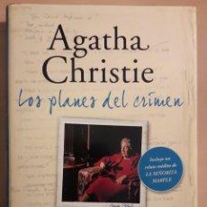 Relatos y Cuentos: LIBRO AGATHA CHRISTIE.LOS PLANES DEL CRIMEN.. Lote 88975574