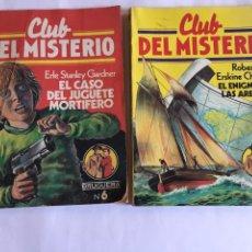 Relatos y Cuentos: CLUB DEL MISTERIO BRUGUERA N /6 Y N/102. Lote 89674702