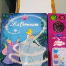 Relatos y Cuentos: LA CENICIENTA VTECH (CUENTO INTERACTIVO). Lote 92879900