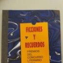 Relatos y Cuentos: FERROCARRILES FGV. LIBRO FICCIONES Y RECUERDOS, AÑO 2007. Lote 130663904