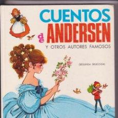 Relatos y Cuentos: CUENTOS DE ANDERSEN MARIA PASCUAL . Lote 105008551