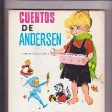 Relatos y Cuentos: CUENTOS DE ANDERSEN MARIA PASCUAL CON SU FUNDA. Lote 105008727