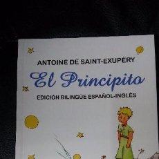 Relatos y Cuentos: EL PRICINCIPITO ( EDICION BILINGUE ESPAÑOL INGLES ). Lote 105423383