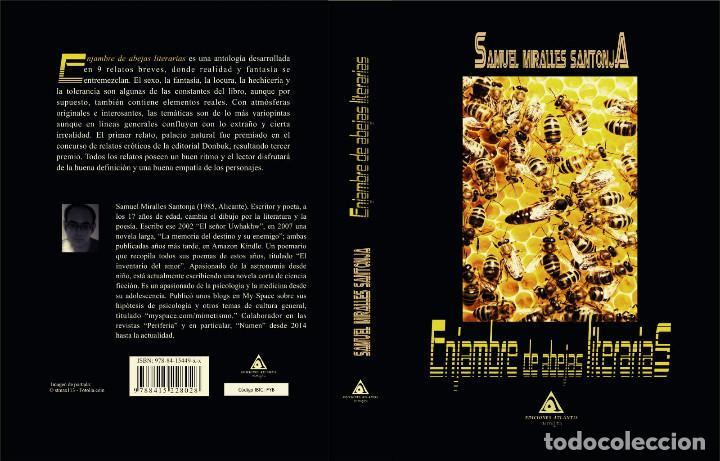 ENJAMBRE ABEJAS LITERARIAS (ERÓTICO) -. DEDICADO PARA TÍ POR AUTOR (Libros Nuevos - Literatura - Relatos y Cuentos)