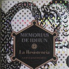Relatos y Cuentos: MEMORIAS DE IDHÚN. LA RESISTENCIA. EDICIÓN DE LUJO. Lote 113858779