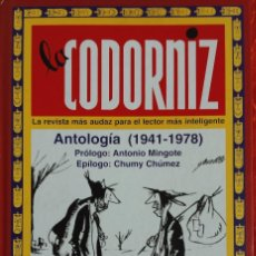 Relatos y Cuentos: LA CODORNIZ: ANTOLOGIA (1941-1978) JULIÁN MOREIRO; SANTIAGO MELQUIADES. Lote 113967975