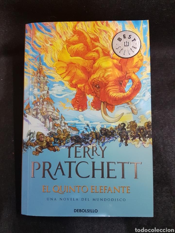 TERRY PRATCHETT EL QUINTO ELEFANTE (Libros Nuevos - Literatura - Relatos y Cuentos)