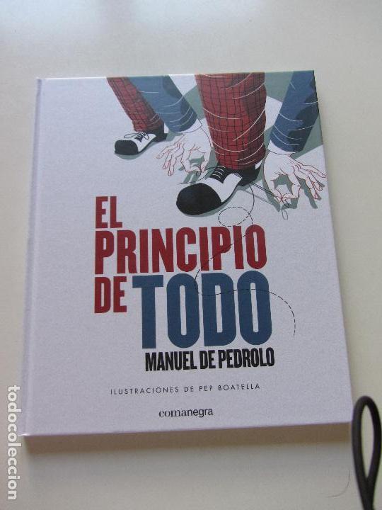 EL PRINCIPIO DE TODO MANUEL DE PEDROLO ILUSTRACIONES PEP BOATELLA COMANEGRA CS112 (Libros Nuevos - Literatura - Relatos y Cuentos)
