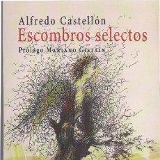 Relatos y Cuentos: ALFREDO CASTELLÓN : ESCOMBROS SELECTOS. (PRÓLOGO DE MARIANO GISTAÍN. HUERGA & FIERRO EDS, 2018). Lote 120436623
