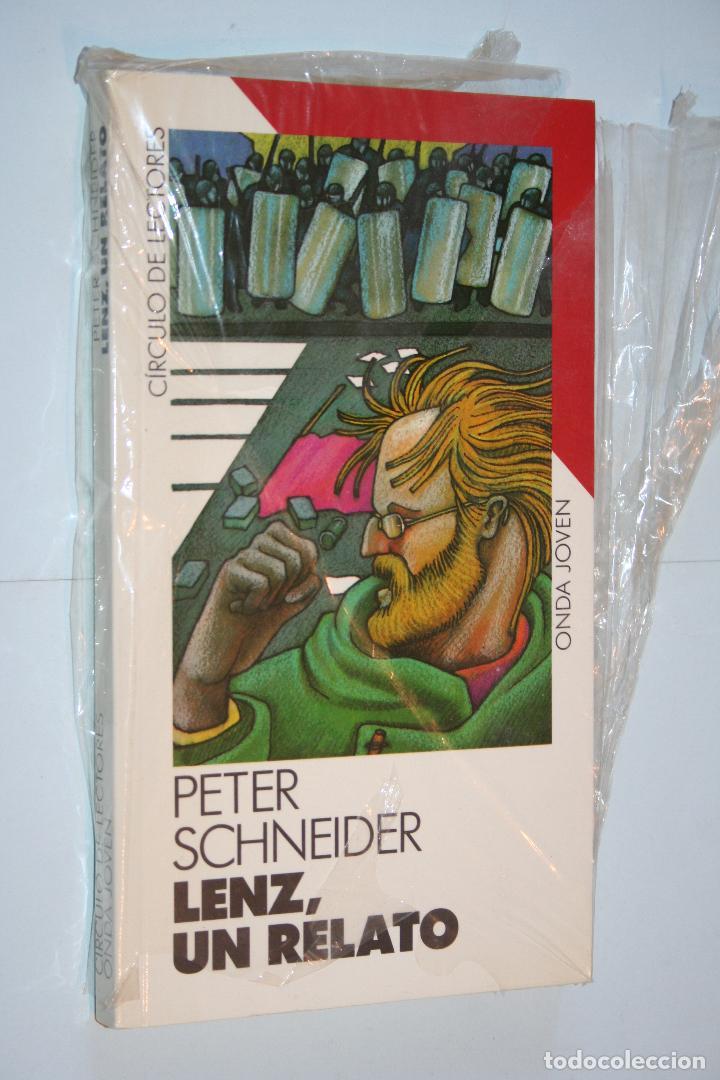 LENTZ, UN RELATO (PETER SCHNEIDER) *** CIRCULO LECTORES *** PRECINTADO (Libros Nuevos - Literatura - Relatos y Cuentos)