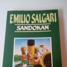 books - Libro Emilio Salgari Sandokan - 121853423