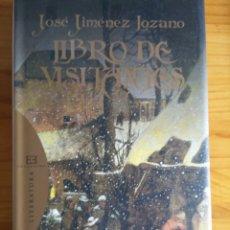 Relatos y Cuentos: LIBRO DE VISITANTES. JOSE JIMENEZ LOZANO. Lote 124214146