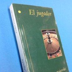 Relatos y Cuentos: EL JUGADOR - DOSTOIEVSKI / 1997 / PRYCA - EDICIONES B. Lote 129463327