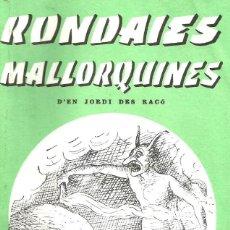 books - Rondaies Mallorquines. Tom V. Jordi des Racó - 130823972