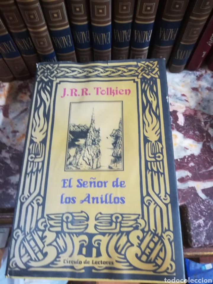 EL SEÑOR DE LOS ANILLOS - J. R. R. TOLKIEN (Libros Nuevos - Literatura - Relatos y Cuentos)