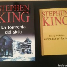 Relatos y Cuentos: LOTE 2 LIBROS STEPHEN KING. Lote 133091883