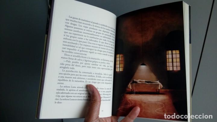 Relatos y Cuentos: Tiempo bífido (Leda Rendón. Con ilustraciones de Álex Falcón) - Foto 5 - 136483030