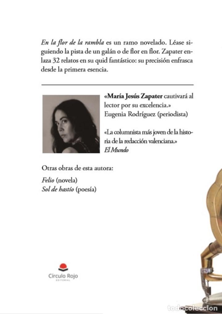 Relatos y Cuentos: En la flor de la rambla, de M. J. Zapater (relatos, 2ª ed.) - Foto 2 - 138350122