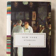 Relatos y Cuentos: NEW YORK STORIES - RELATOS CORTOS EN INGLÉS. Lote 140849765
