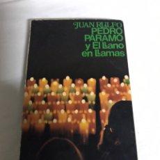 Relatos y Cuentos: LIBRO PEDRO PARAMO Y EL PARAMO EN LLAMAS. JUAN RULFO. Lote 142415853
