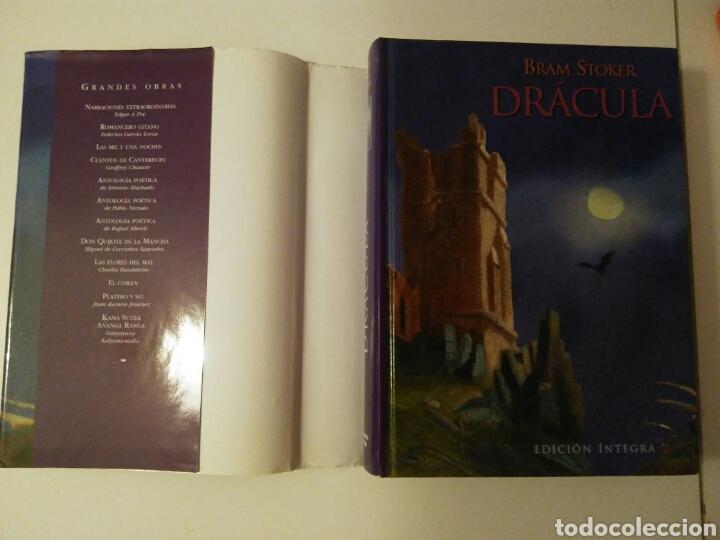 Relatos y Cuentos: Drácula-edición íntegra-BRAM STOKER-año2001 - Foto 2 - 143610912