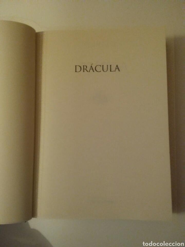 Relatos y Cuentos: Drácula-edición íntegra-BRAM STOKER-año2001 - Foto 5 - 143610912