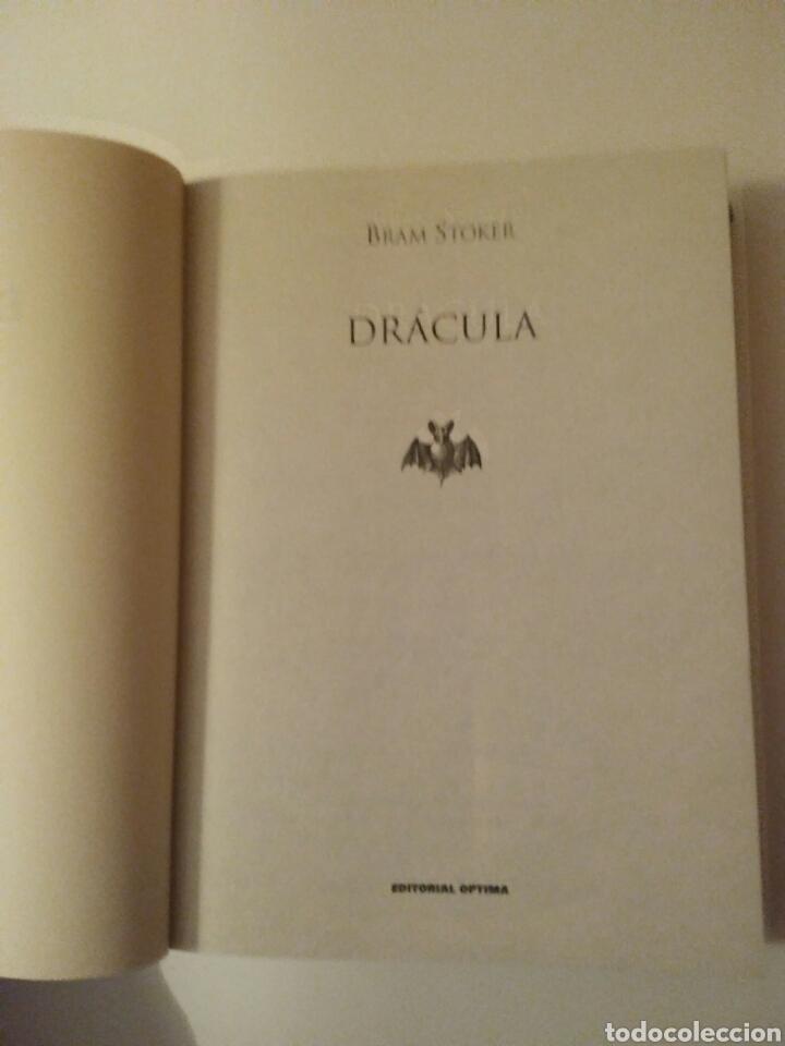 Relatos y Cuentos: Drácula-edición íntegra-BRAM STOKER-año2001 - Foto 6 - 143610912
