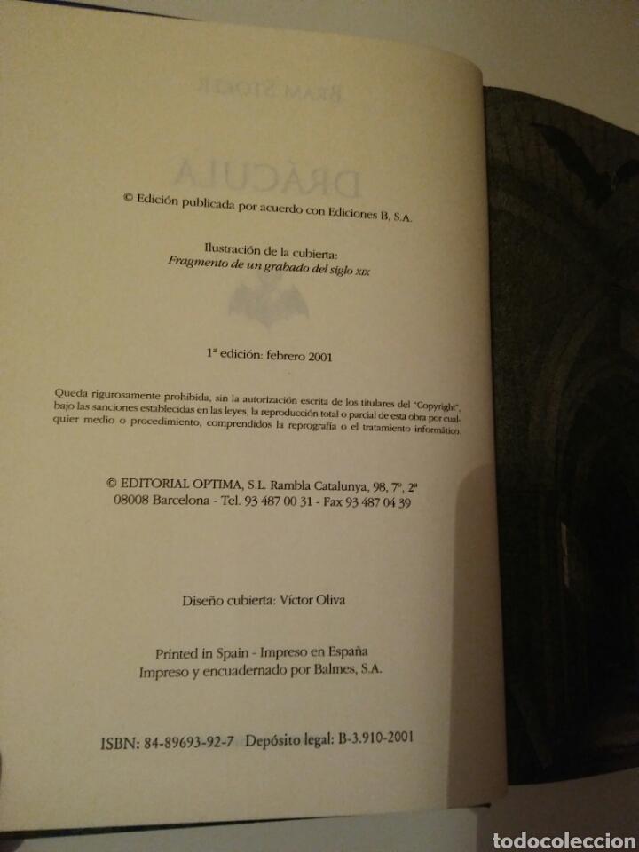 Relatos y Cuentos: Drácula-edición íntegra-BRAM STOKER-año2001 - Foto 8 - 143610912