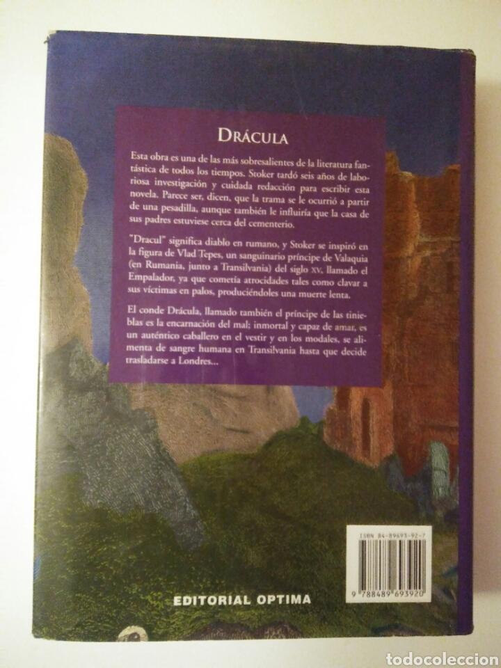 Relatos y Cuentos: Drácula-edición íntegra-BRAM STOKER-año2001 - Foto 9 - 143610912