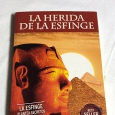 Relatos y Cuentos: LIBRO LA HERIDA DE LA ESFINGE. TERENCI MOIX. Lote 143742601