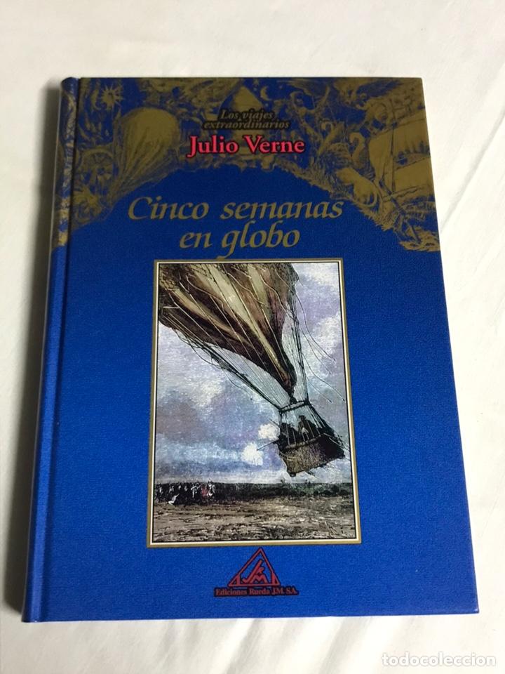 Relatos y Cuentos: COLECCIÓN DE 5 LIBROS DE JULIO VERNE - Foto 3 - 143745441