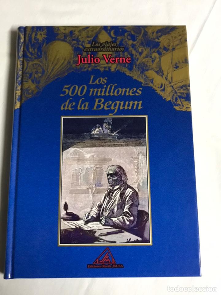 Relatos y Cuentos: COLECCIÓN DE 5 LIBROS DE JULIO VERNE - Foto 6 - 143745441