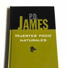 Relatos y Cuentos: LIBRO MUERTES POCO NATURALES. P. D JAMES. Lote 143745924