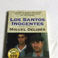 Relatos y Cuentos: LIBRO LOS SANTOS INOCENTES. MIGUEL DELIBES. Lote 143747876